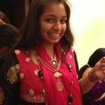 @nainikareddy my pretty baby sister :)