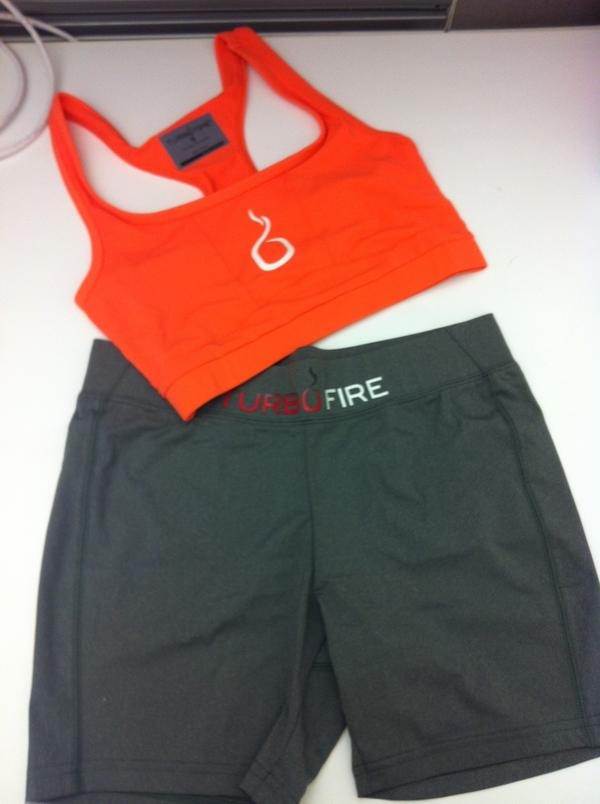 Follow @TurboFire & RT this 4 a chance to win our Orange Sports Bra & Grey Shorts #TurboFireWear http://t.co/XoKc4jAR http://t.co/4pmshAhr