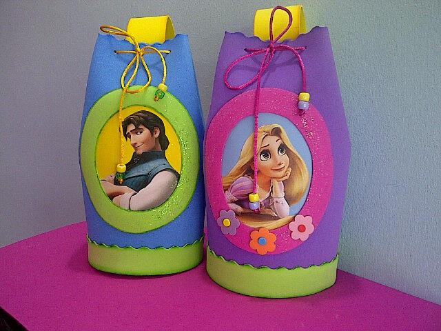 TodoFoami : Cotillones Enredados Rapunzel...totalmente en Foami ...