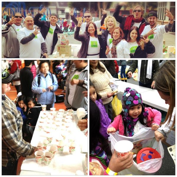 Serving 600 families with toys, meals, Vi-Shakes and love in the #Tenderloin #ViCares @Visalus #ViLife http://t.co/Te652x1Y