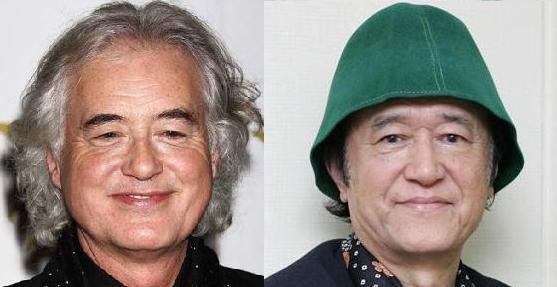 これはわかりやすい!(笑) RT @yefgenoeyy: 分からない人の為に。 左がノッポさんで右がジミーペイジ。 http://t.co/TEh0nNtZaC nikaidou972