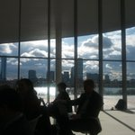 Stunning view from the top floor of the MIT Media Lab, during the Roundtable on the Digital Economy last week