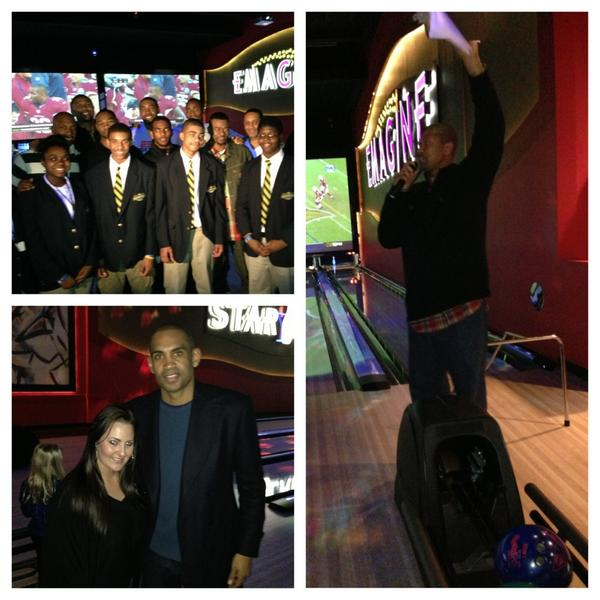 Sherrie Handrinos (@Sherbear2313): Awesome event today for @JalenRose http://t.co/sqQCHcZR
