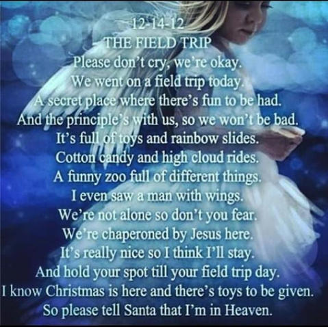 A Poem for the Children of Sandy Hook Elementary