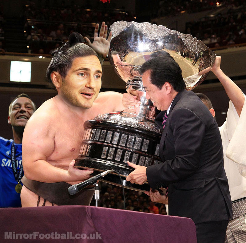 Hahahaha sick!! | @MirrorFootball: EXCLUSIVE PIC! Chelsea did bring one trophy home from Japan... http://t.co/PjorLa7X