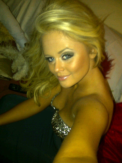 Forgot to say thanks to for doing my makeup sat night! Only found 1 photo of me sober so here