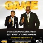 Check out http://t.co/ajxwEOL4 tomorrow at 4 PM for a #HallOfGame category and nominees announcement from me and @SHAQ