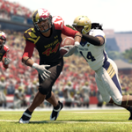 RT @EANCAAFootball: A look at the Maryland Pride alternates in Under Armour Uniform Pack #3 for #NCAAFootball13.