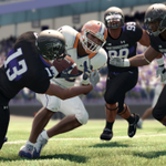 RT @EANCAAFootball: A look at the Northwestern black alternates in Under Armour Uniform Pack #3 for #NCAAFootball13.