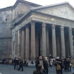 Pantheon during Christmas