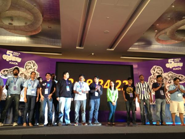 "Yes here we are ""@We4Cast: The Official Yahoo! Open Hack India 2012 Crew #OpenHackIndia2012 #OpenHackIndia #OpenHacl http://t.co/DaeJ8YEO"""