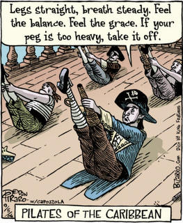 #FunFridayCartoon  Pilates of the Caribbean! http://t.co/kqujyLnG