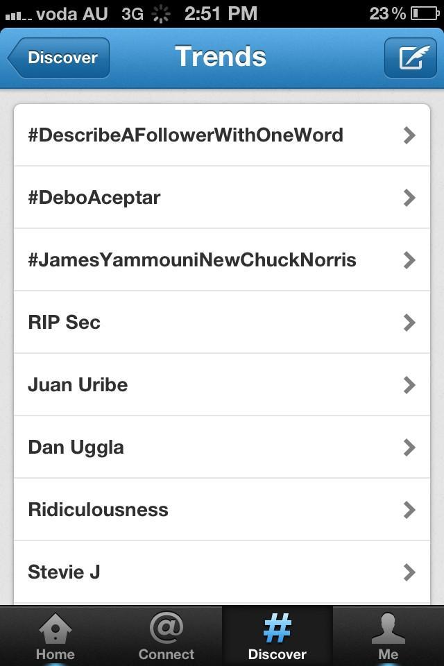 #JamesYammouniNewChuckNorris trending worldwide lol http://t.co/mXZhvm9b