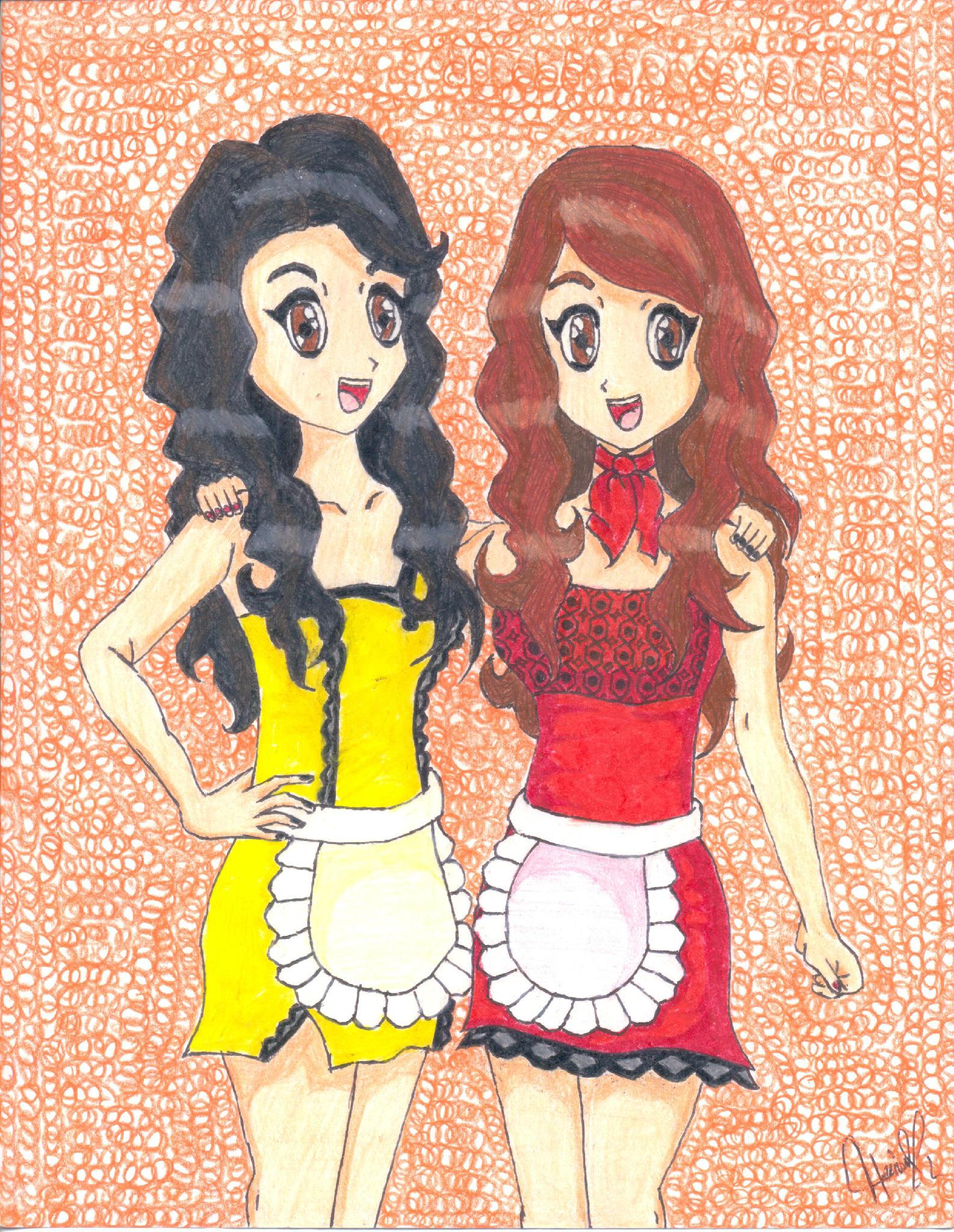 Arely Tellez y Gaby Ramírez, las meseritas más populares de Acábatelo =) http://t.co/jikqliKO