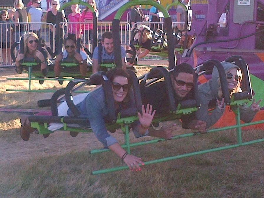 Having some fun at the Oregon State Fair! http://t.co/nO4PYDtf