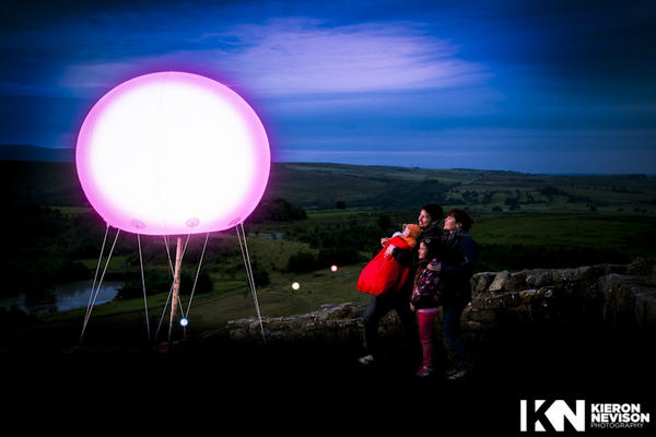 This weekend I was up on Hadrian's Wall photographing an art instillation. http://t.co/gYu4Lm9j