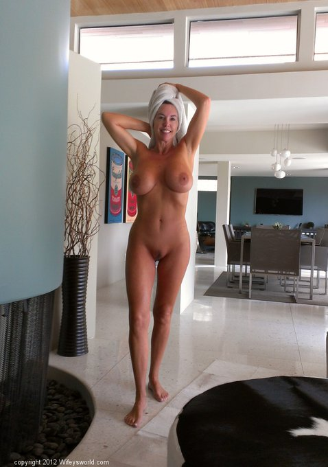 Just out of the shower, I need another towel! http://t.co/uFr8np8o