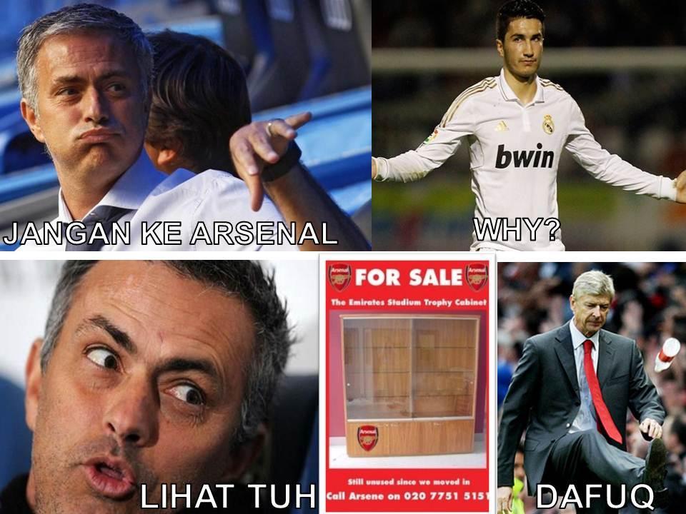 Mourinho: 'Jangan ke Arsenal, Sahin!' http://t.co/i3rAofKk