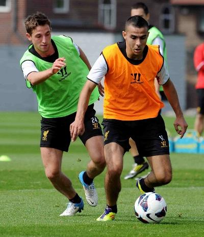 #PIC Joe Allen & Assaidi http://t.co/IDvJcGJK