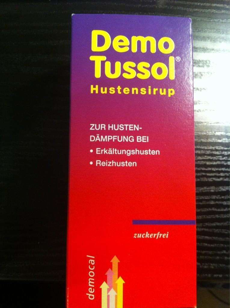 @soschlecht darf ich vorstellen? Demo Tussol gegen Reizhusten. Das Design und der Name lösen aber eher Brechreiz aus. http://t.co/79Sw0il3