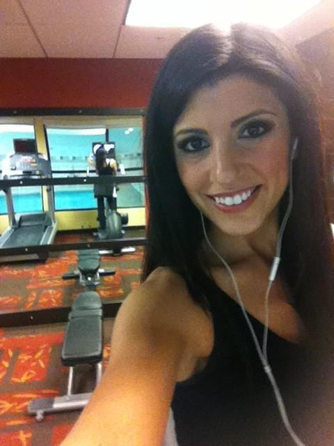 PCH Danielle Lam (@PCHDanielle): Working out before the big award day! I have so much energy - I'm SO excited! RT if you are too! http://t.co/I7E7uSqJ