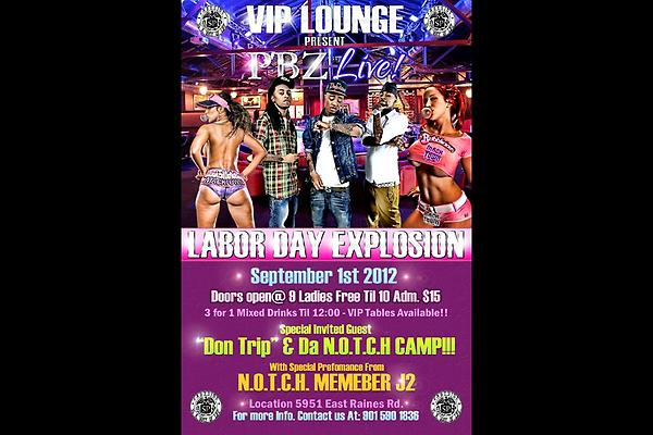 Saturday Nite @ VIP Lounge @itspbz Labor Day Explosion http://t.co/TWgFLILS