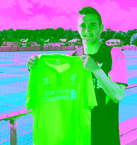 Here is another pic of our new signing, Samed Yesil. Glück! http://t.co/Du39OLyX