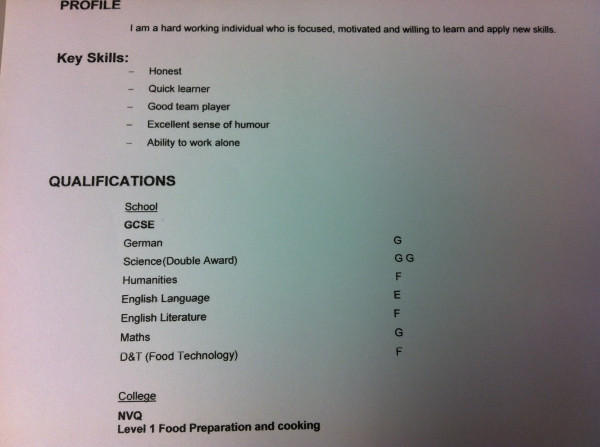 Lmao I beg people look at this person's cv!!! RT http://t.co/TK1d3ZA3