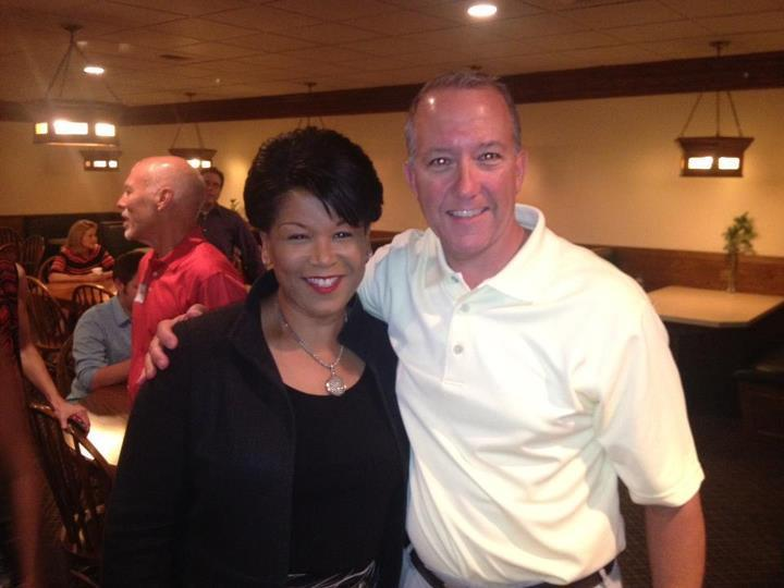 With Justice Yvette McGee Brown at the SCDP Fundraiser yesterday. http://t.co/t6H32O6f