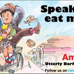 RT @Amul_Coop: Speak less eat more! - Latest Amul Topical on Bollywood release 'Barfi'