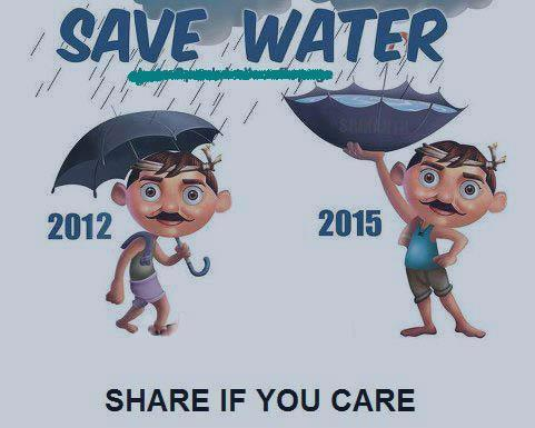 A drop of water is worth more than a sack of gold to a thirsty man! Save water, it will save you later! http://t.co/gcnYlFid