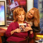 RT @JoyVBehar: Melissa Etheridge is on my @Current TV show right now. Got a caption for this photo? http://t.co/OIG49JqS