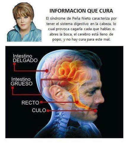 Síndrome Peña Nieto. Información que cura. http://t.co/ggmosXwP