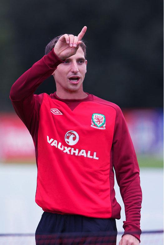 Joe Allen berlatih bersama timnas Wales http://t.co/xMaA5seI