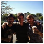 RT @richardmarx: These three knuckleheads wrote a song today. @JonMcLaughlin @luccadoes http://t.co/jW6p1aKH