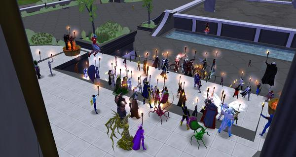 @NCSoftGames Rallying for @CityOfHeroes in Atlas Park even draws out the Rogues! #SaveCoH http://t.co/eYrLTW3r