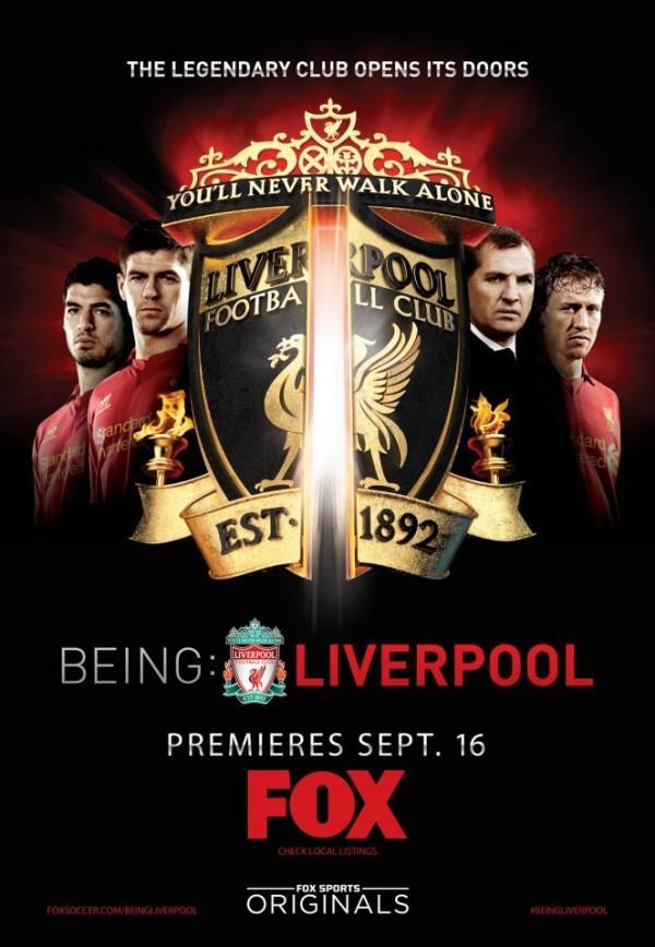 Film dokumenter tentang Liverpool FC yang berjudul 'Being: Liverpool' akan tayang perdana di USA pada 16 September 2012 http://t.co/DLa0AqaT