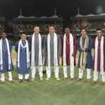 RT @sanjaymanjrekar: The 'wise guys' of the IPL finals 2012 : ) http://t.co/SWLjTeIn