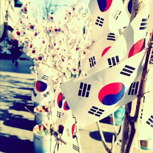 RT @Bingo_S1: #korea علم #كوريا http://t.co/i4uUsUWa