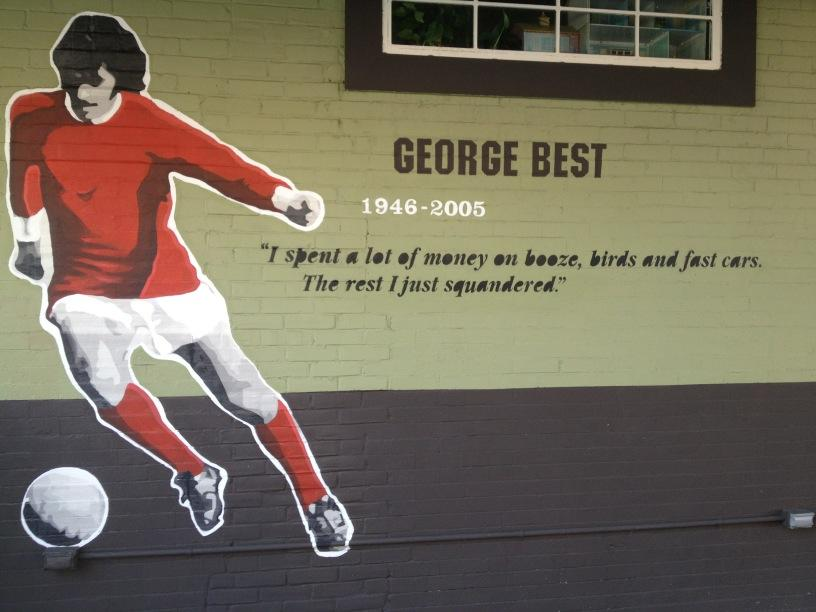 Football legend George Best mural in Brooklyn, NY: http://t.co/oKgEVYxT