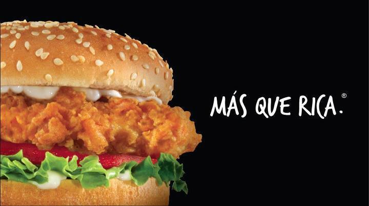 """""""@carlsjrEC: Ven a Carl's Jr. ahora mismo y prueba la hand- breaded chiken sandwich. Qué esperas? http://t.co/7o3Oj9SG"""" RICO"""