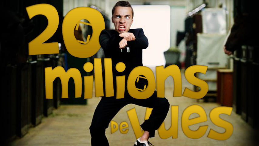 Yo ! 20.000.000 de vues ATTEINS ! OPPA SQUEEZIE STYLE http://t.co/QT3snrh3