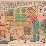 RT @weddingpresent: From a 1972 Archie comic where he time-travels to the year 2012. (via Mark Newman)