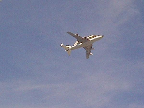 #spottheshuttle just flew over our hotel!!!! @NASA you rock!!! http://t.co/rrG1Z28O