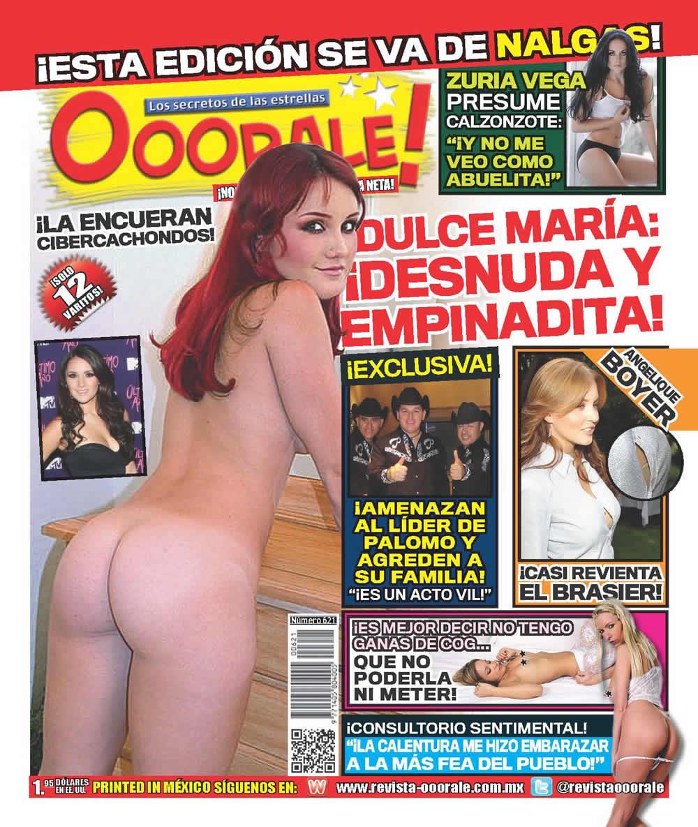 Revista Óóórale! (@RevistaOoorale): ¡Dulce María (@DulceMaria): ¡#DESNUDA y #EMPINADITA! Ö  http://t.co/aGpgHnXC David Estrada @DavidEstrava