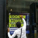#SMWHK Preparations underway at The Space...Gives me goosebumps every time :). http://t.co/EOt4hRBm