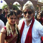 Happy birthday @SrBachchan the most handsome man i knw at 70 n rockin it....love n admiration alwayz