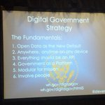 Key principles of Digital government strategy via Federal CIO @stevenvdc at #worldgovsummit