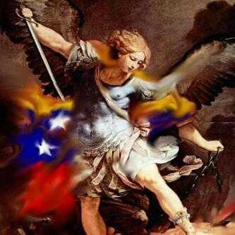 San Miguel Arcángel bendice y protege nuestros hogares y a nuestra Venezuela  en el nombre de DIOS, Amen. http://t.co/MHRmw8Ax
