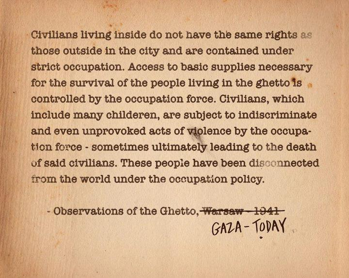 #Palestine #Gaza #Oppression http://t.co/Yt2nOaJH